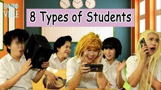 types of students in an exam