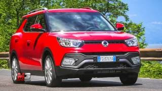 New ssangyong XLV 2016 - first test drive only sound