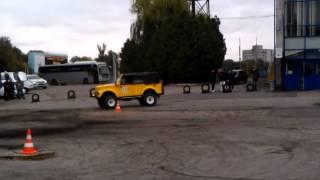 D.A.R.S. '13 ГАЗ-69 ''Банан'' . 1-й заезд