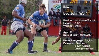 Leo Wolf Rugby Profile - Grey High School