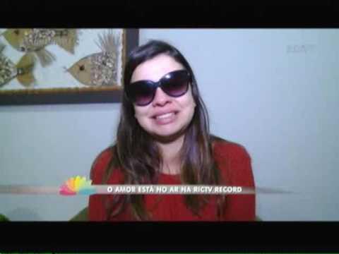 O amor está no ar na RICTV Record Itajaí   1