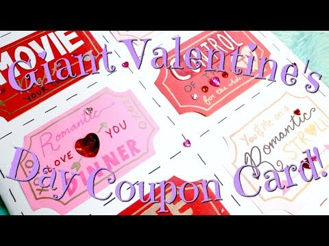 ☆ Insta-Worthy | Giant Valentine's Day Coupon Card ☆