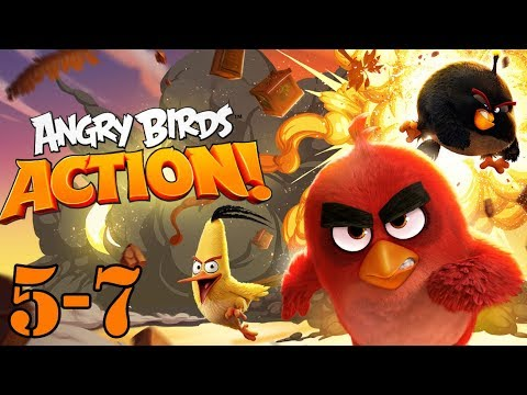 angry birds gameplay part 5 and 7 - let's PLAY Angry birds with GERTIT