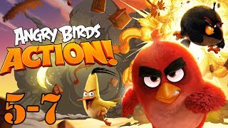 angry birds gameplay part 5 and 7 - let's PLAY Angry birds with GERTIT thumbnail