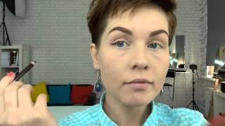 Анна Измайлова Как сделать макияж: синие стрелки