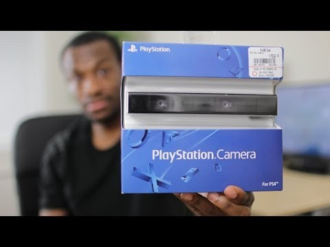 Official PS4 Camera Unboxing
