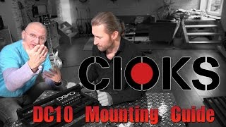 CIOKS - DC10 Mounting Guide under Pedaltrain boards