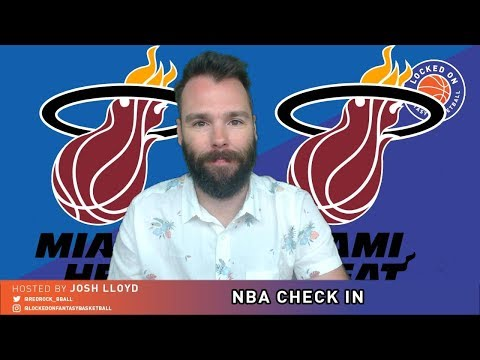 NBA FANTASY CHECK IN | Miami Heat January 14 2019 | Could Hassan Whiteside Be Traded?