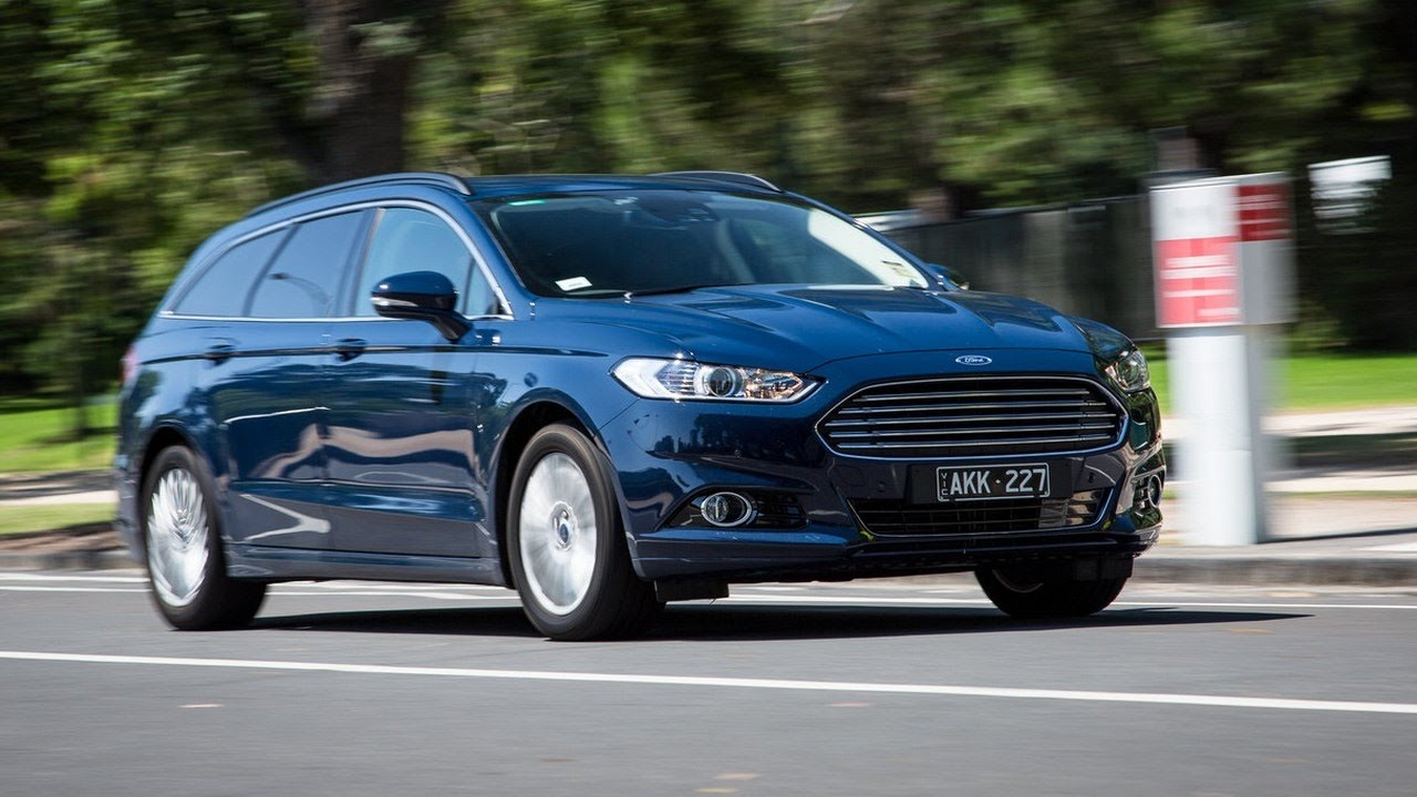 2018 Ford Mondeo Trend Wagon New Car Youtube
