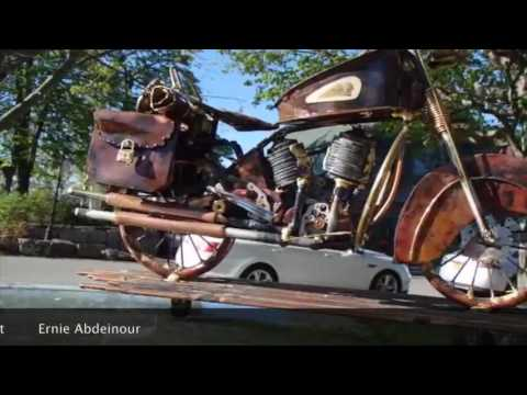 Bar Harbor Craft Fair featuring Ernie Abdeinour Metal Artist