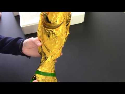 Unboxing World Cup Trophy Replica Youtube