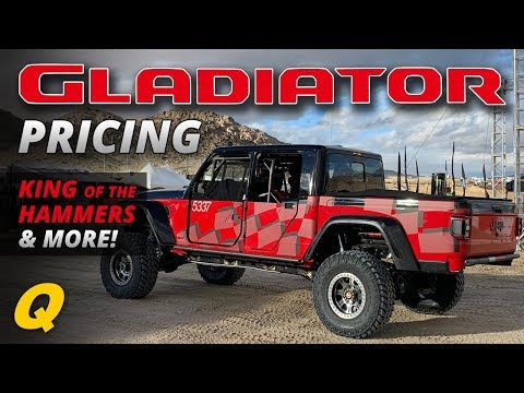 Jeep Gladiator Pricing, Gladiator in the Crusher & King of the Hammers - Jeep News