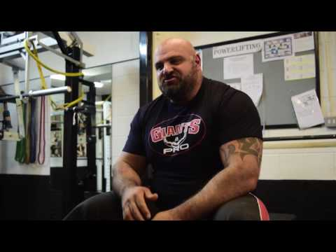 Laurence Shahlaei 370kg deadlift and interview.