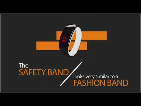 Women Safety Band - A Project By Sandip Polytechnic Students