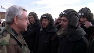 Ս  Սարգսյանը մեկնել է ՀՀ հարավարևելյան սահմանագոտի և Արցախ