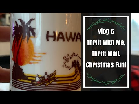 Thrift With Me At Goodwill Outlet Bins, Thrift Mail, Christmas! A Very Minnesota Christmas Vlog 5