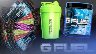 HUGE G Fuel UNBOXING! Shaker, Sachets, TUB + Free G Fuel!