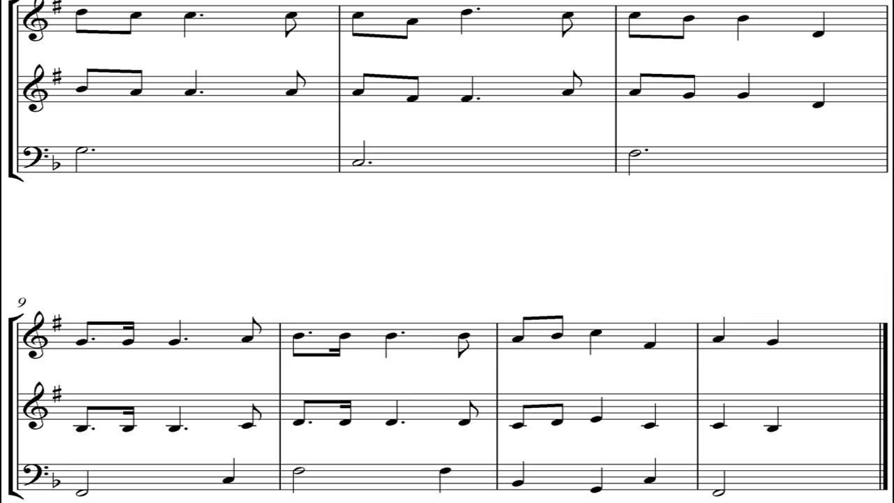 Noten Oh Tannenbaum.Oh Tannenbaum Brass Trio