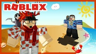 ROBLOX INDONESiA | Beach Party BIRTHDAY 6th URI 🎉