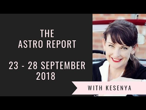 Your Week in Advance - Spring Equinox  - The Astro Report with Kesenya