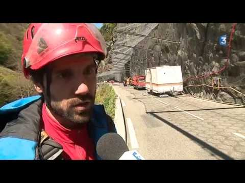 Hautes-Pyrénées : les travaux des gorges de Luz ont débuté ce jeudi pour 8 semaines