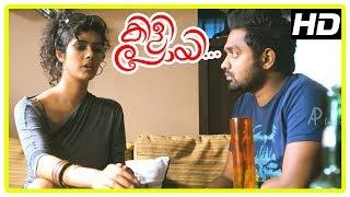 Kili Poyi Latest Movie Scenes | Asif Ali and Aju meet Raveendran | Latest Malayalam Movies 2017