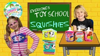 Everyone's TOY SCHOOL - Squishies! Moj Moj Crunch, Smooshy Mushy Air Besties & Baby Besties