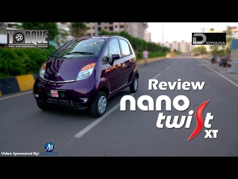 Tata Nano Twist XT Review & Features | Torque - The Automobile Show