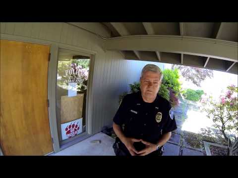 Ashland Police Chief, Open Carry.