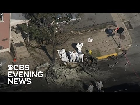 Father, 2-year-old son among victims of Pennsylvania car explosion
