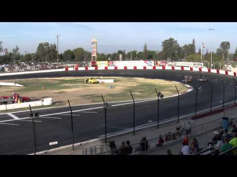 Super Modified Main event Race - Madera 8-15-15