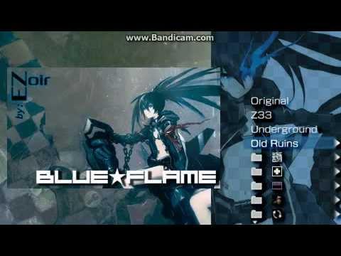 Psp Theme Showcase: Blue Flame By Eznoire