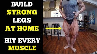 Legs Workout At Home (Quads, Hamstring, Butt)   Complete Home Workout Routine