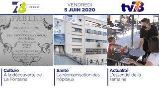 7/8 L'Hebdo. Emission du vendredi 5 juin 2020