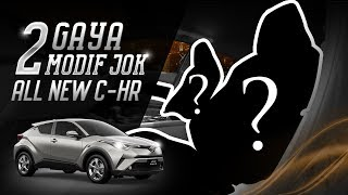 Dua Gaya Modifikasi Jok Toyota All New C-HR