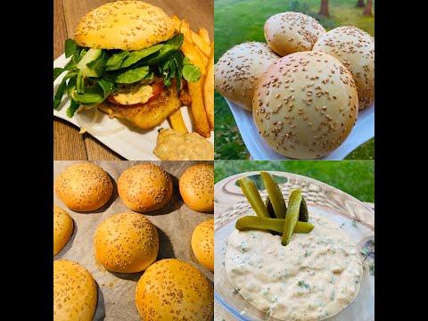 👉pain-burger-ultra-moelleux-🍔🍟(خبز-البرجر-فائق-النعومة-(مترجمة-بالعربية🍟🍔