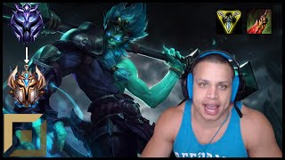 🐒 Tyler1 THE MONKEY KING IS BACK | UNRANKED TO CHALLENGER TOP ONLY | Wukong Top Gameplay ᴴᴰ ⭐38
