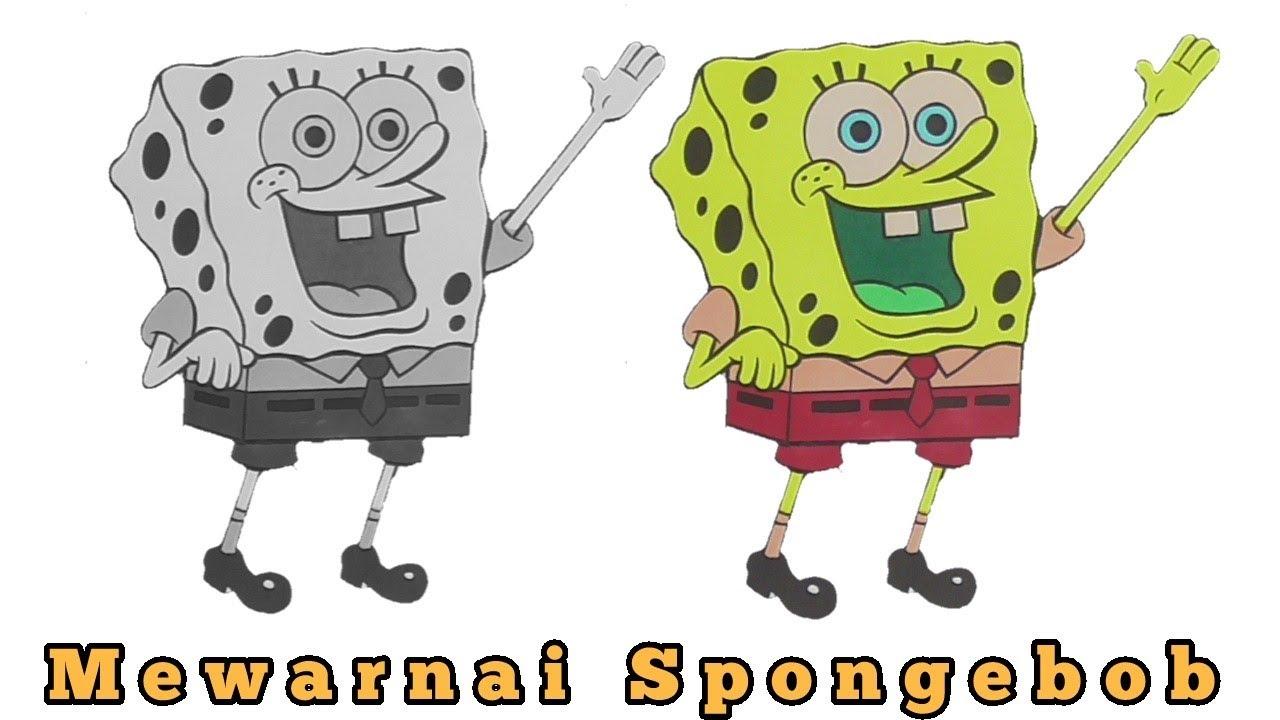 Gambar Mewarnai Spongebob Squarepants Dan LOL Kartun