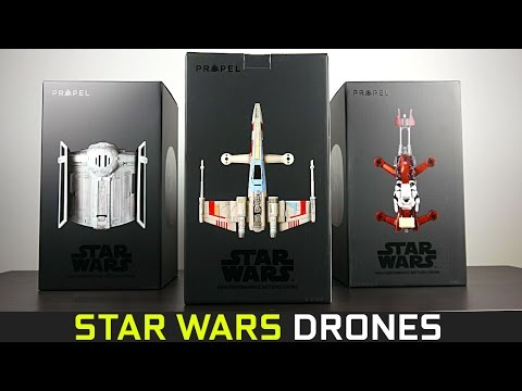 Propel Star Wars Drones  - Unboxing & Overview