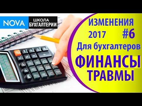 Изменения в 2017 году для бухгалтеров #6. Правила финансирования по сокращению травматизма!