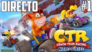 Vídeo Crash Team Racing Nitro-Fueled