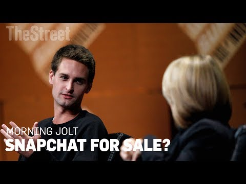 Morning Jolt: Is Snapchat Founder Evan Spiegel Shopping the Company?
