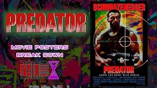 Predator - Artist Breaks Down Movie Poster