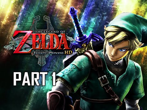 The Legend of Zelda Twilight Princess HD Walkthrough Part 1 - Prologue (Hero Mode Let's Play)