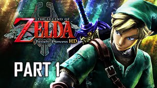 The Legend of Zelda Twilight Princess HD Walkthrough Part 1 - Prologue (Hero Mode Let