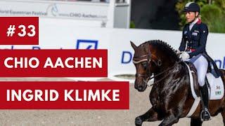 #33 | Ingrid Klimke und Bluetooth|CHIO Aachen |Intermediare I| 2018