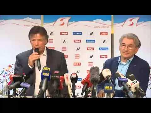 Pressekonferenz - Anna Fenninger