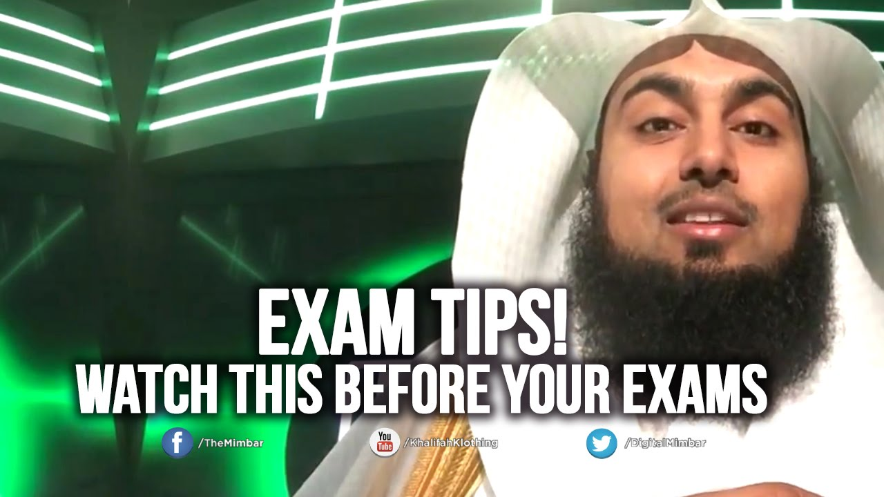 Watch this before your exams sajid umar
