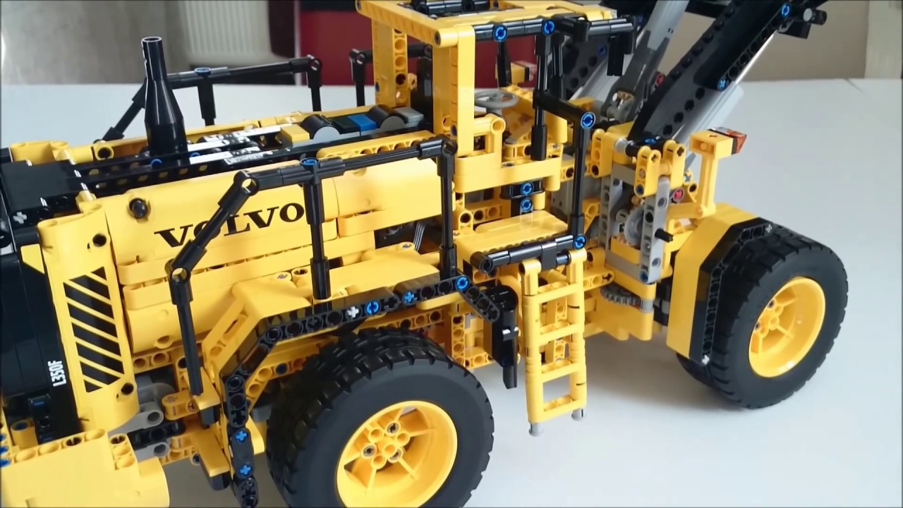 lego technic 42030 volvo l350f radlader review