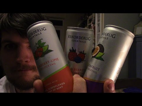 Booze And Talk 73 - Rekorderlig Cider Cocktails - 3 Different Flavours